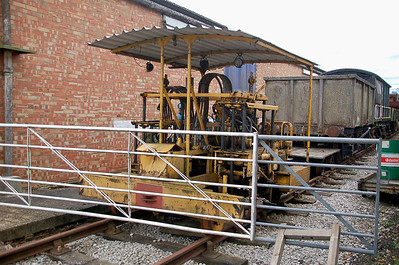 Matisa 346 - Buckinghamshire Railway Centre - 10 June 2012