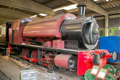YE 2498 Chislet - Buckinghamshire Railway Centre - 10 June 2012