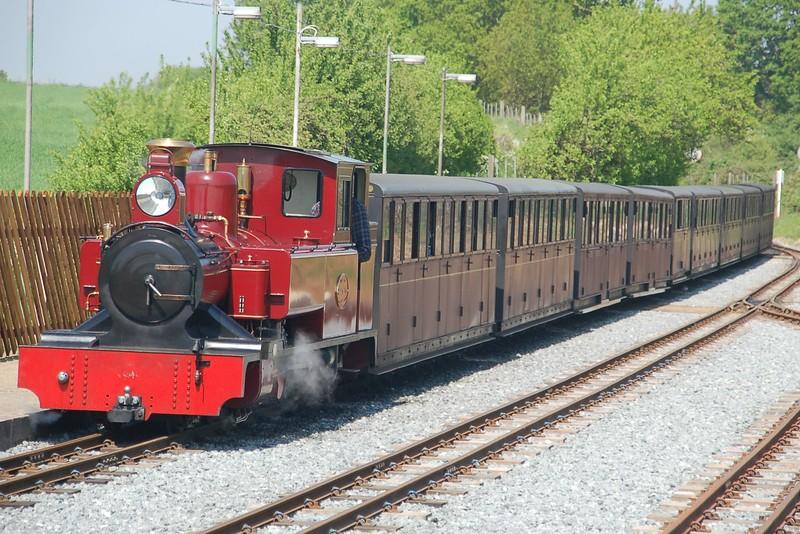 Winson 20 reb AK 69R Mark Timothy - Bure Valley Railway - 12 May 2016