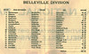 Canadian National Railways Employee Timetable 61 1945 June 24. Southern-Ontario District, Belleville Division. Table of contents. Mileages for sub-divisions.