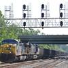 5/30/11<br /> St Denis Marc Station<br /> U726-28<br /> Westbound<br /> Coal Empties<br /> Old Main Line<br /> No. 489 – 5108
