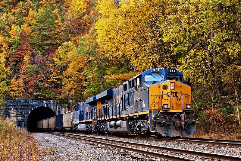 Fall on the B&O Mountain