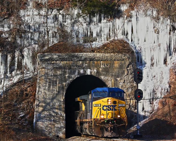 Big Bend Tunnel Ice