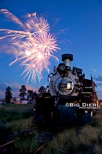 """""""... and the rocket's red glare"""" ©2010 William Diehl"""