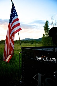 Old Glory, Old Steel, and Old Earth. ©2010 William Diehl