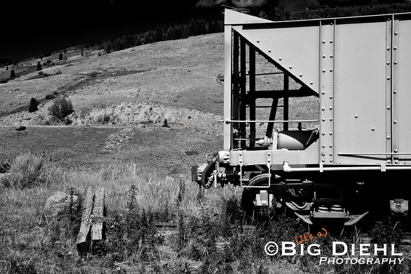 Rock hopper car at Osier Colorado.
