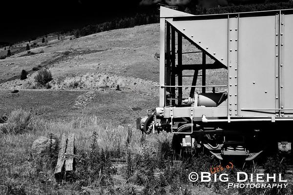 Rock hopper car at Osier Colorado.