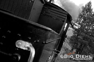 Cumbres & Toltec Locomotive # 488. ©2010 William Diehl