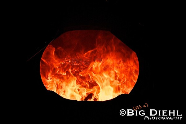 """""""into the burning blazes of hell and damnation"""" ©2010 William Diehl"""