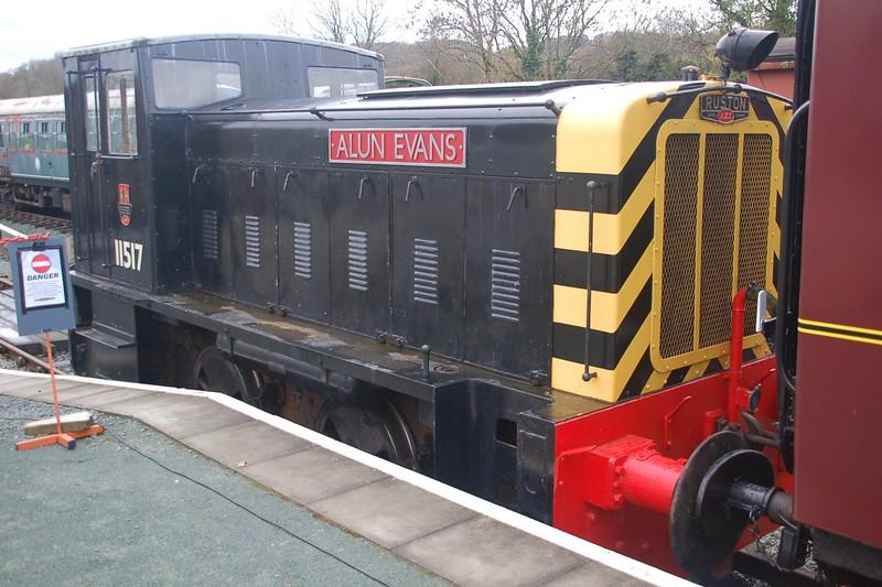 RH 458641 11517 Alun Evans - LLynclys, Cambrian Heritage Railway - 20 November 2016