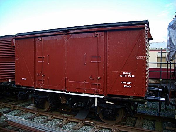 783814 (230000) Vent Van Ply Vanwide - Cambrian Heritage Railway