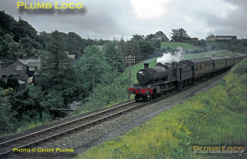 "7802 ""Bradley Manor"", Talerddig, 31st August 1963"