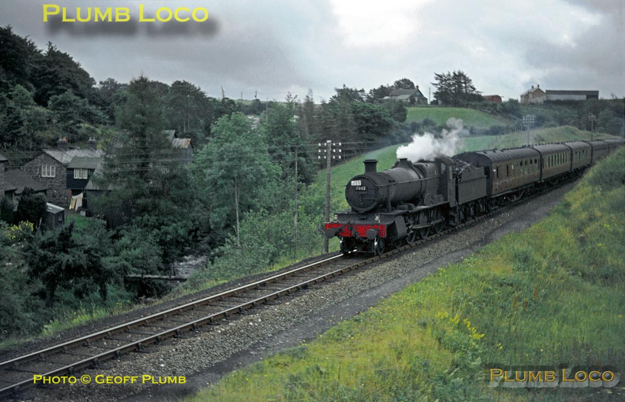 "7802 ""Bradley Manor"", Talerddig, 31st August 1963"