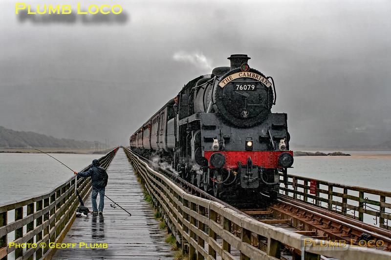 76079, Barmouth Bridge, 1J77, 26th August 2009