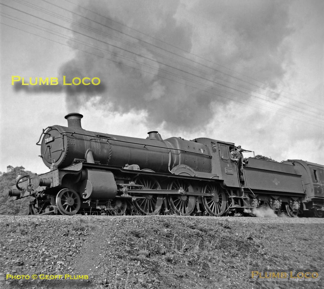 "7818 ""Granville Manor"", Talerddig, 31st August 1963"