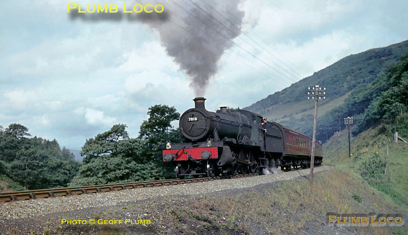 "7818 ""Granville Manor"", Talerddig, 31st August 1963"