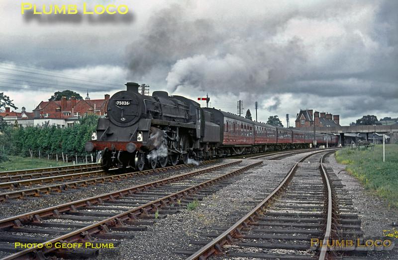 75026, Welshpool, 25th July 1964