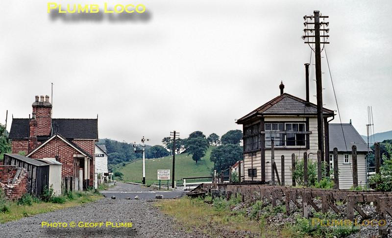 Penmaenpool Station & Signalbox, 23rd June 1971