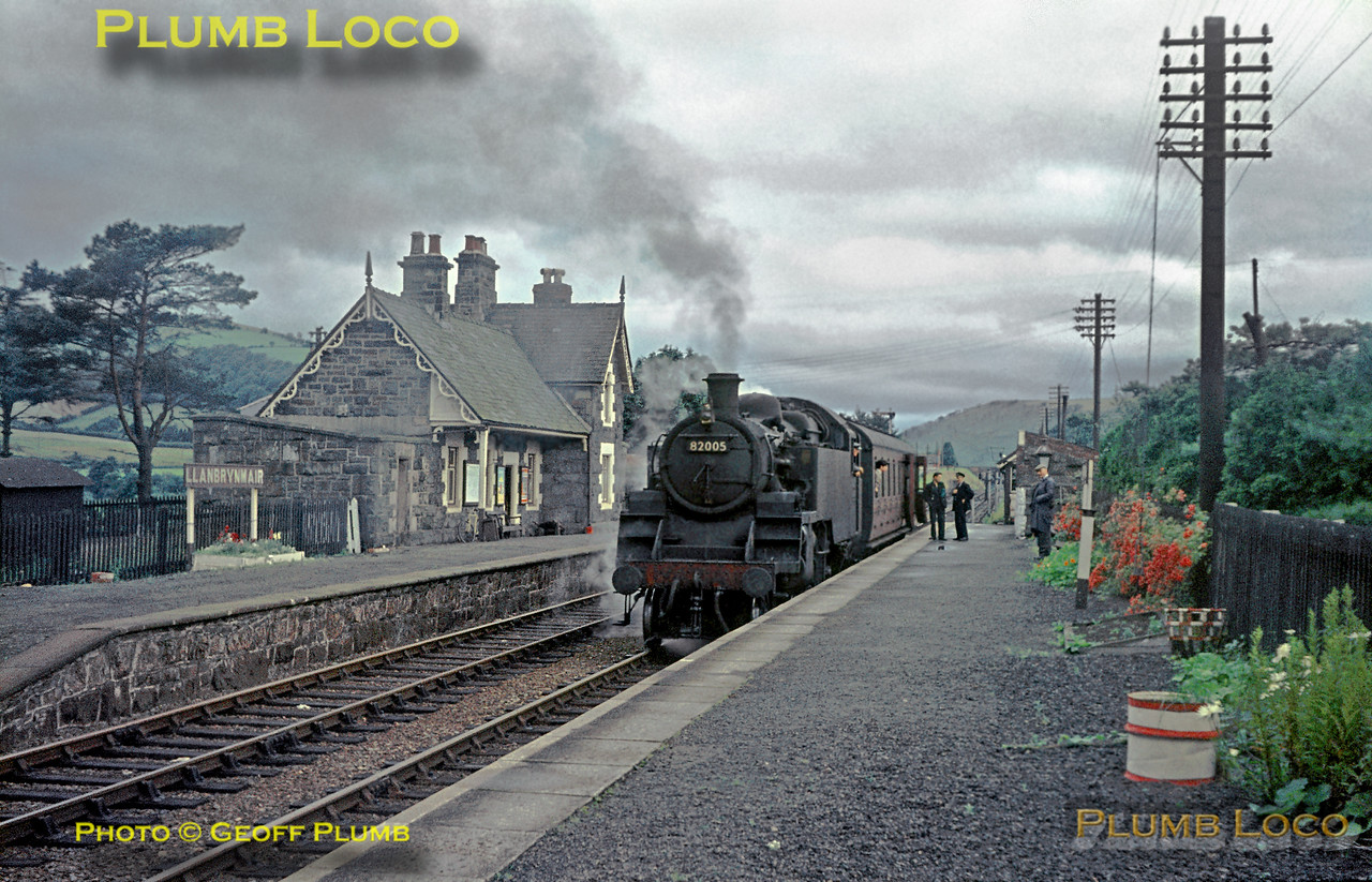 82005, Llanbrynmair, 1st August 1964