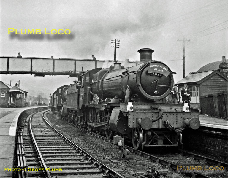 "7827 ""Lydham Manor"" & 7819 ""Hinton Manor"", Corwen, 20th April 1963"