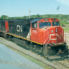 CN 5685 & CN 5783 - Hornepayne, Ontario - 24 June 2009