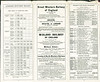 Canadian Northern Railway Timetable 1913 June 14th. Connecting lines.