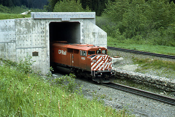 CP at Mt Macdonal Tunnel