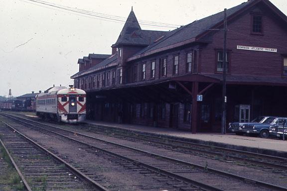 Kentville, Nova Scotia - This is CP's subsidiary the Dominion Atlantic Railway.