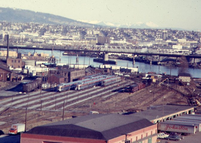 Canadian Pacific's passenger yard in Vancouver, BC