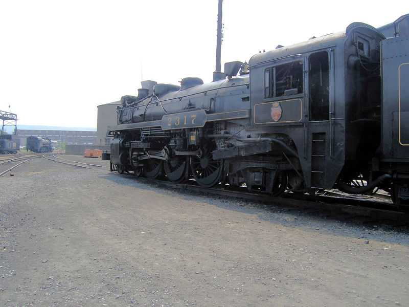 Steamtown CP 2317 side view