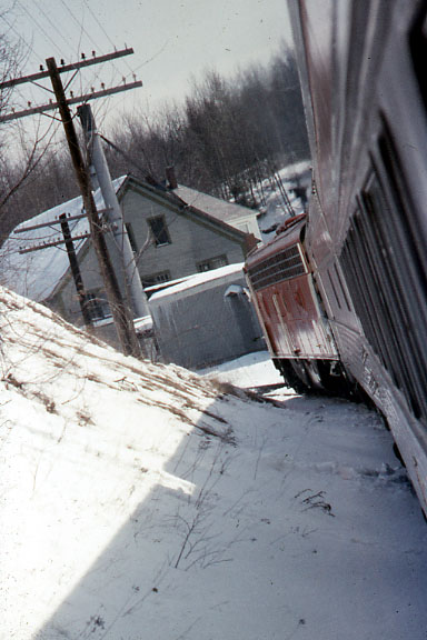 3/23/1974 Montreal to Wells River, VT fan trip on the CPR