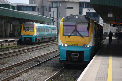 175115 & 175111 Cardiff Central 19/4/14