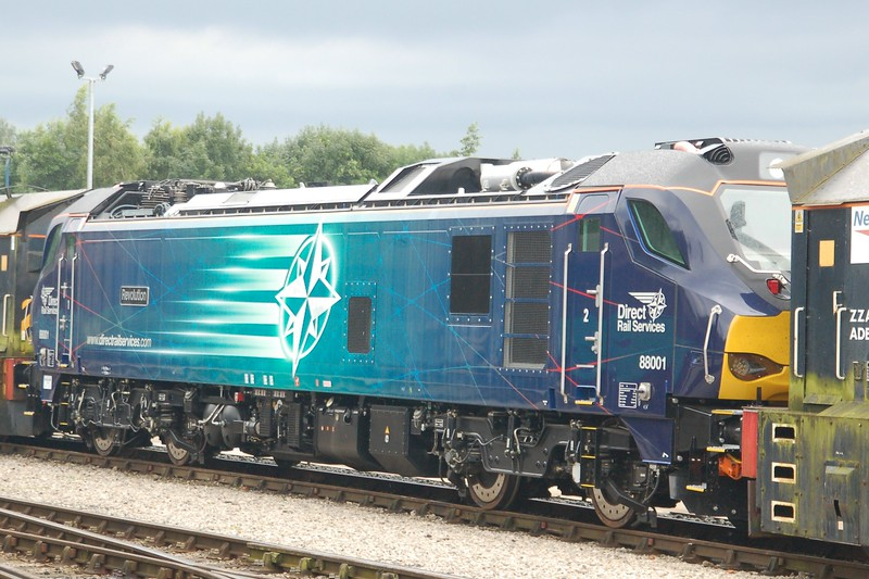 88001 Revolution - Carlisle Kingmoor - 22 July 2017