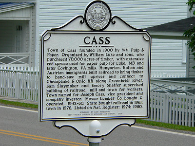 Origin of the town of Cass.
