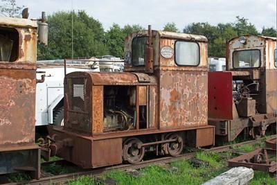 "Deutz WN 57839 ""No LM258"" at Cavan & Leitrim Rly. Dromod. Co. Leitrim  29 September 2014"