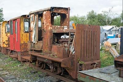 "Ruston Hornsby WN 402175 ""No LM161"" at Cavan & Leitrim Rly, Dromod, Co. Leitrim  29 September 2014"