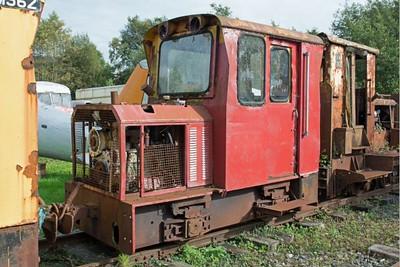 "Dundalk Eng (No WN built 1984) ""No LM361"" at Cavan & Leitrim Rly, Dromod, Co. Leitrim  29 September 2014"