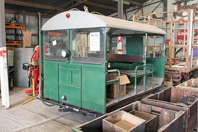 "Wickham WN 9673 ""No W6/11-4"" at Cavan & Leitrim Rly, Dromod, Co. Leitrim  29 September 2014"