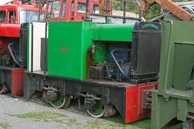 "Hunslet WN 7342 (rebuild of HE 2763) ""No 2"" at Cavan & Leitrim Rly, Dromod, Co. Leitrim  29 September 2014"