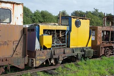 "Ruston Hornsby WN 375345 ""No LM106"" at Cavan & Leitrim Rly, Dromod, Co. Leitrim  29 September 2014"
