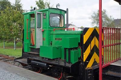 "Ruston Hornsby WN 379070 ""LM114 Joe St Leger"" at Cavan & Leitrim Rly, Dromod, Co. Leitrim  29 September 2014"