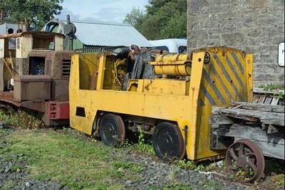 Motor Rail 115U093 at Cavan & Leitrin Rly, Dromod, Co. Leitrim  29 September 2014