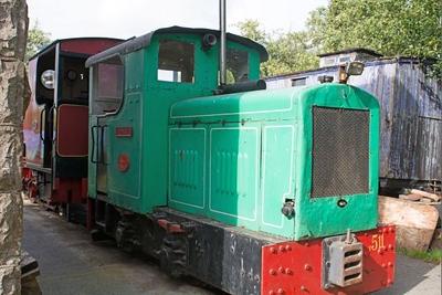 "Fowler WN 3900011 ""No F511 Dinmor"" at Cavan & Leitrim Rly, Dromod, Co. Leitrim  29 September 2014"