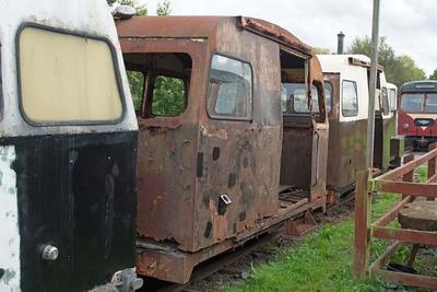 C74 BnM 4wPMR at Cavan & Leitrim Rly, Dromod, Co. Leitrim  29 September 2014