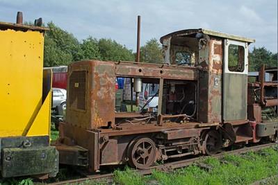 "Ruston Hornsby WN 420042 ""No LM175"" at Cavan & Leitrim Rly, Dromod, Co. Leitrim  29 September 2014"