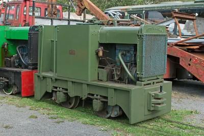 "Hunslet WN 7341 (rebuild of HE 2304) ""No 3"" at Cavan & Leitrim Rly, Dromod, Co. Leitrim  29 September 2014"