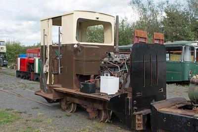 Ruston Hornsby 379059 at Cavan & Leitrim Rly, Dromod, Co. Leitrim  29 September 2014