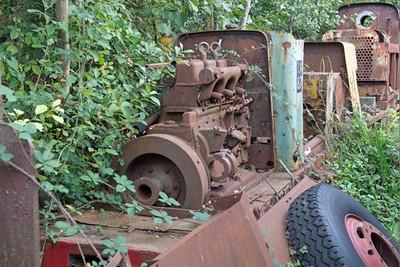 "Ruston Hornsby WN 329696 ""No LM87"" at Cavan & Leitrim Rly, Dromod, Co. Leitrim  29 September 2014"