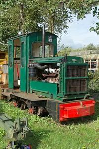 "Ruston Hornsby WN 259189 ""No LM49"" at Cavan & Leitrim Rly, Dromod, Co. Leitrim  29 September 2014"