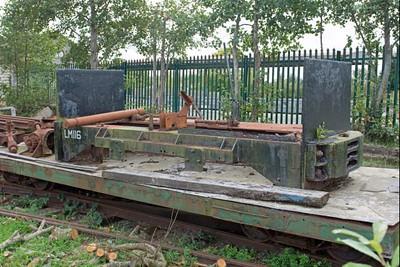 "Ruston Hornsby WN 379077 ""No LM116"" at Cavan & Leitrim Rly, Dromod, Co. Leitrim  29 September 2014"